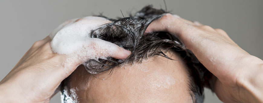 wash  hair after hair implant