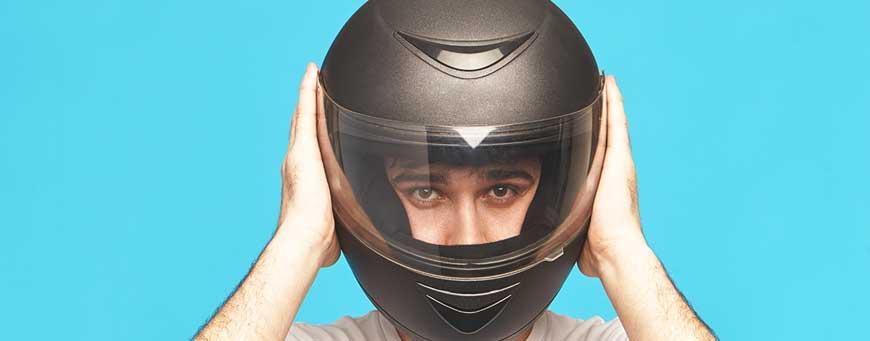 Wearing helmet after hair transplant