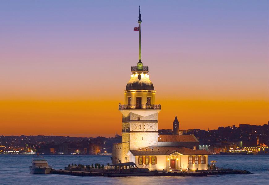 Девичья башня - Стамбул